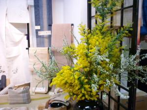 花が春の装いに替わった