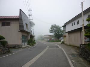 10年7月19日・昭和村にて、朝