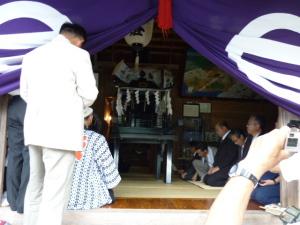 (10/08/15)渡御祭の儀