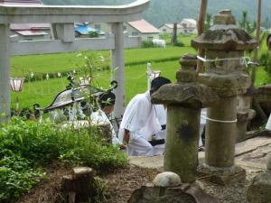 渡御祭・気多神社へ帰還