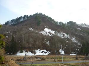 雪形(4月30日から5月7日)