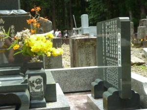 140814_墓参り・蓬莱亭安則の墓