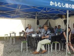 150719_奥会津/からむし織の里フェア会場4