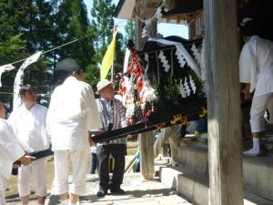 150815_奥会津/気多神社渡御祭・巡行1