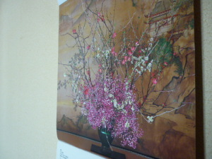 160121_カスミ草のカレンダー