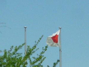 160429_昭和の日に見かけた国旗
