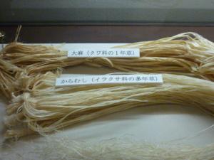 160723_奥会津にて・からむし工芸博物館展示室